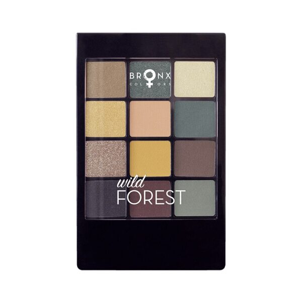 Bronx Colors Eyeshadow Palette Wild Forest SPN07